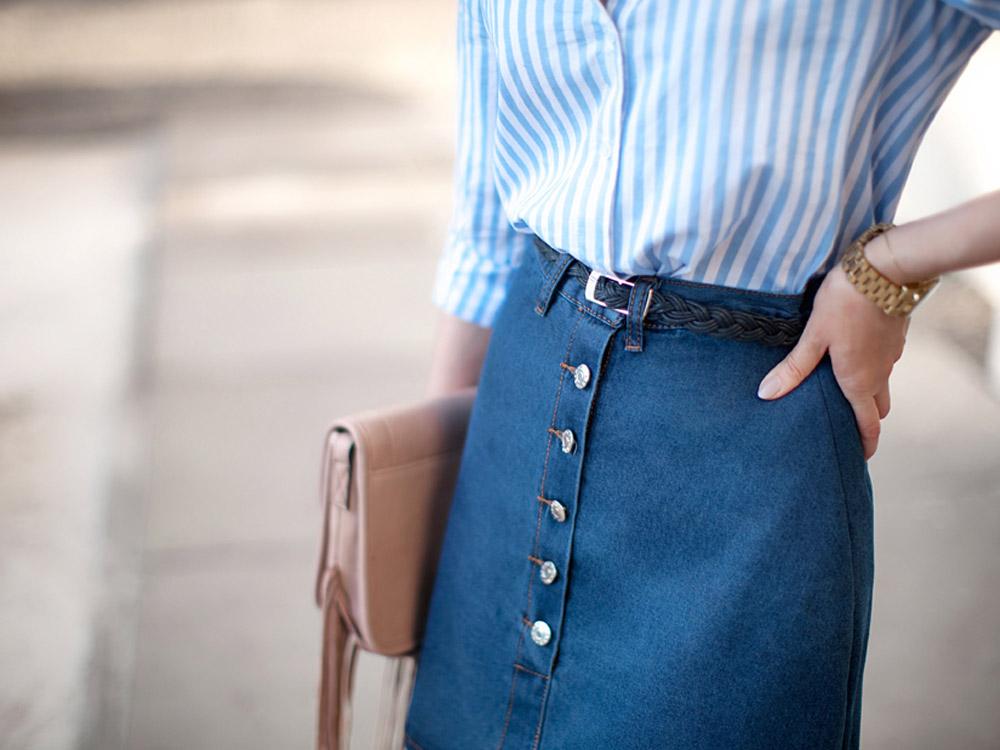 High waist skirts outfit