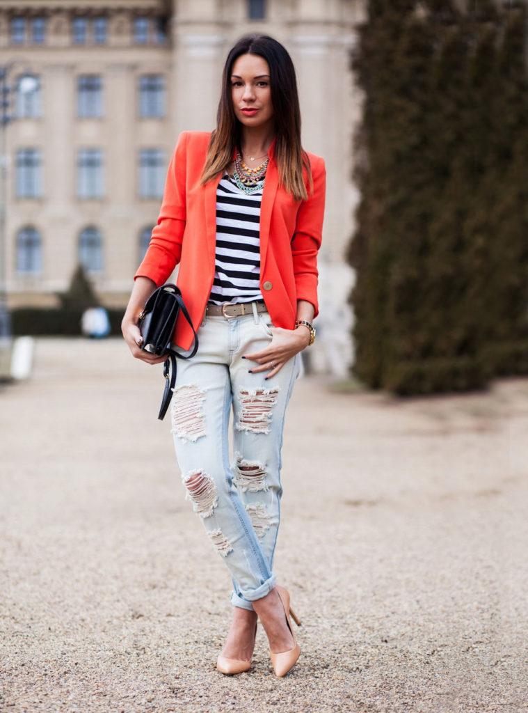 blazer jacket outfit
