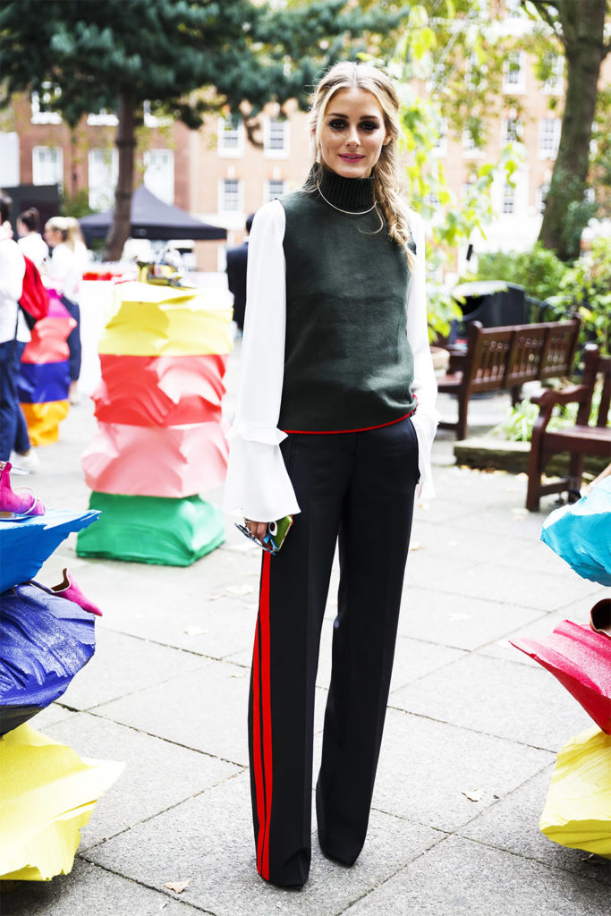 Jogging pant outfit from Paris Fashion Week