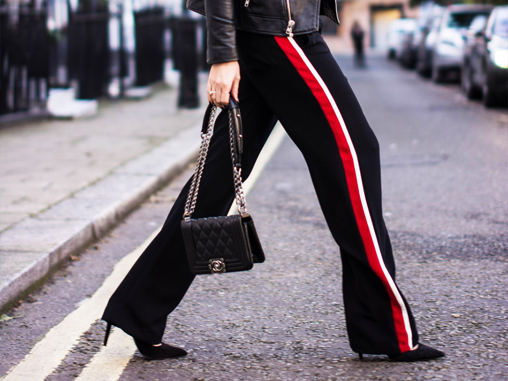 how to wear jogging pants