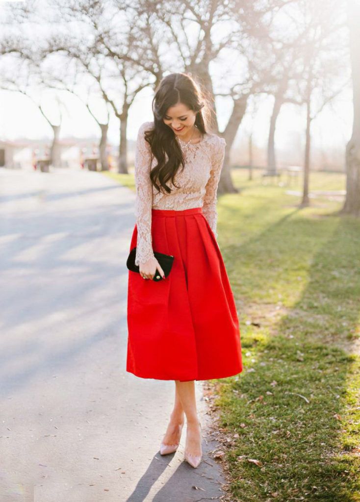 Red summer outfit ideas