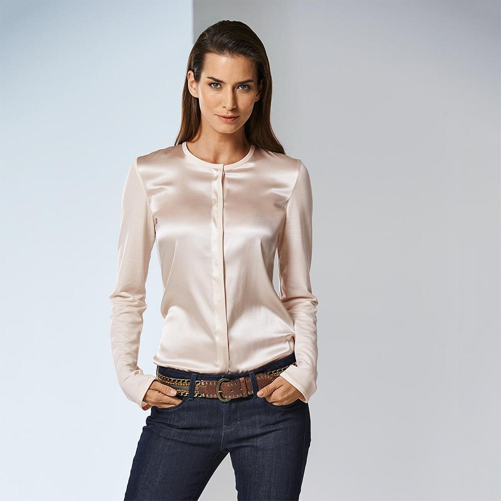 silk shirt outfit
