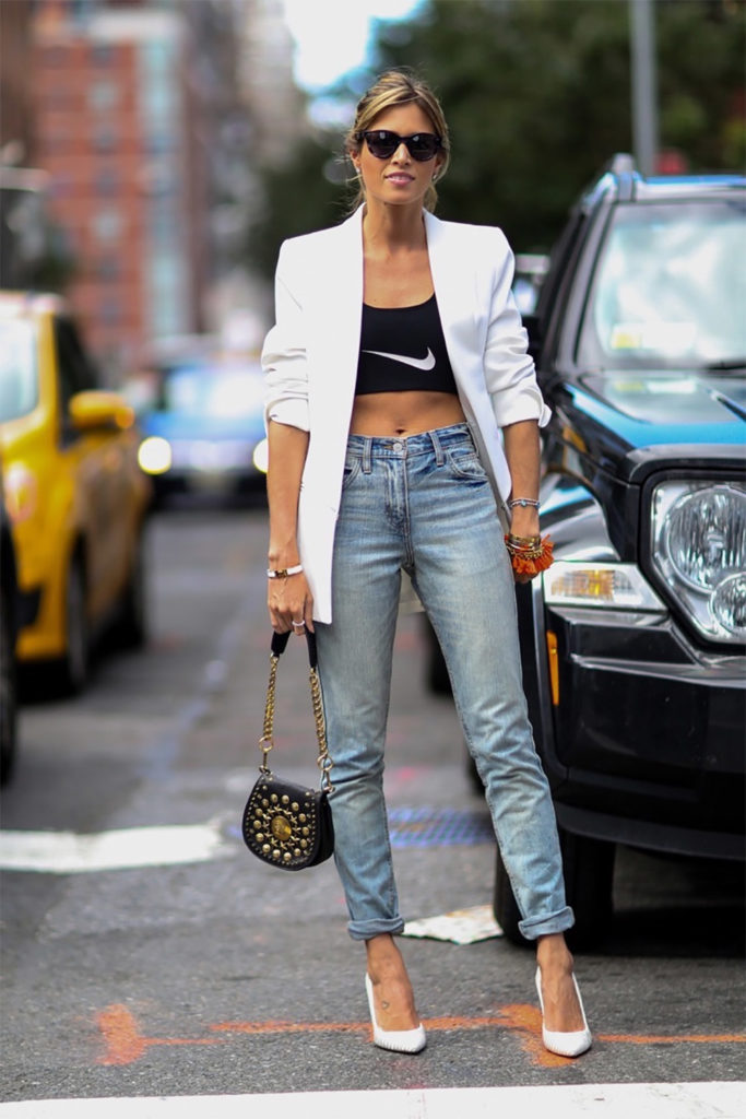 Sport jeans outfit