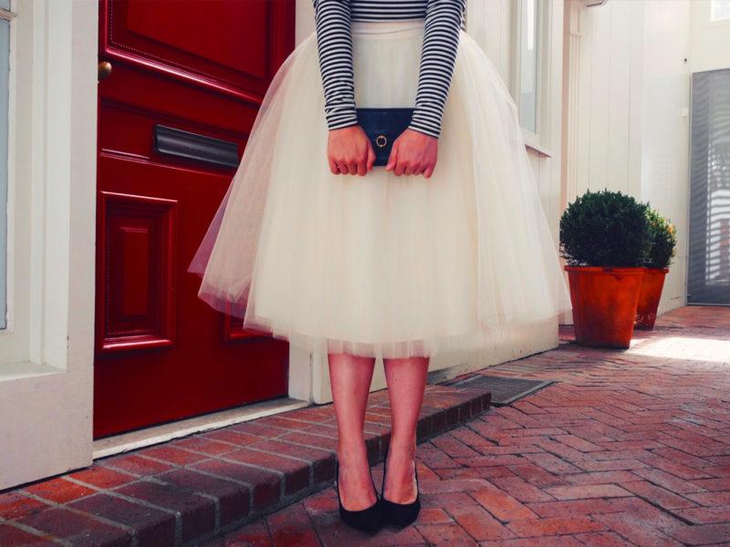 tutu skirt outfit ideas