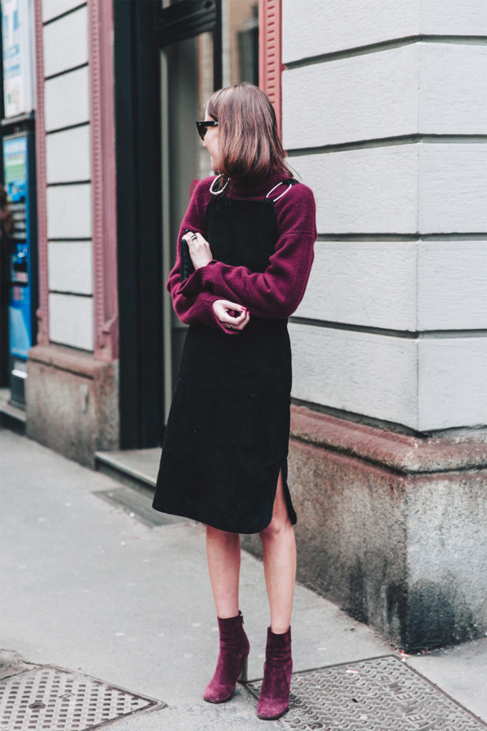 Velvet shoes outfit