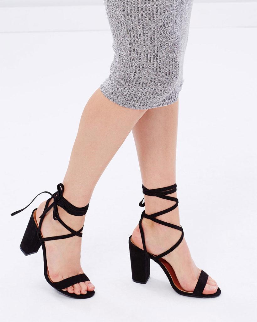black daily high heels