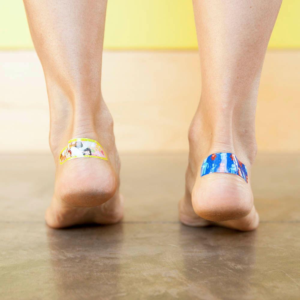 high heels band aid