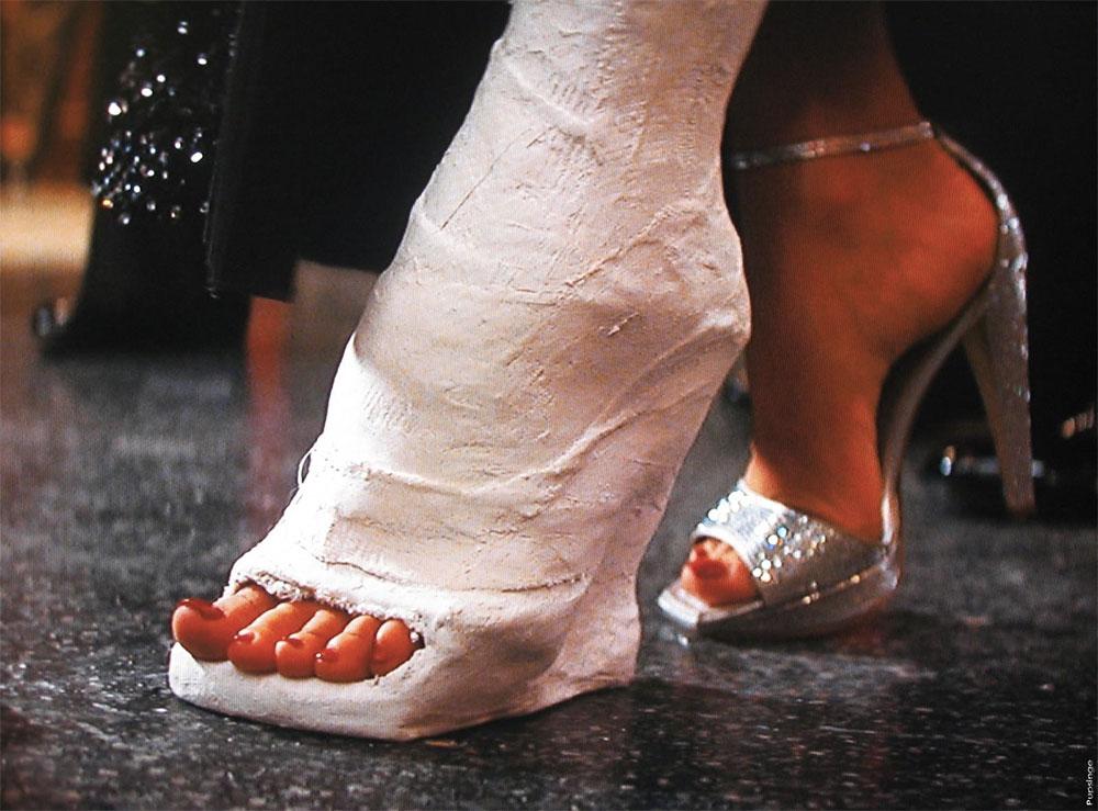 indestructible high heels