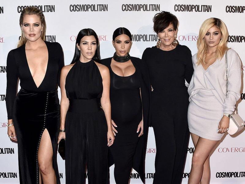 kardashian family awards outfit