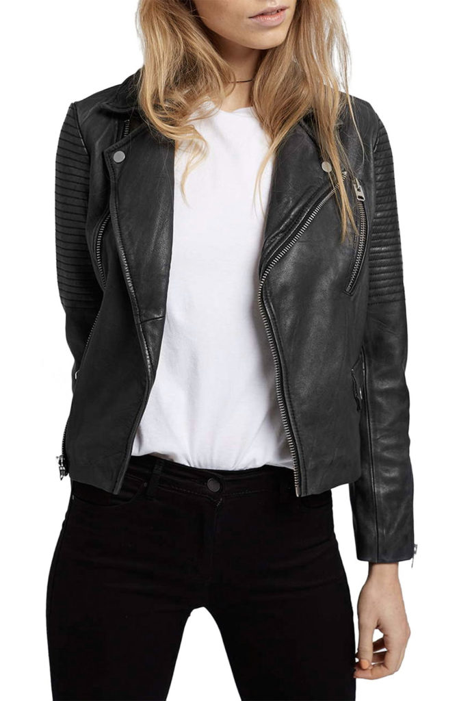 leather jacket daily outfit