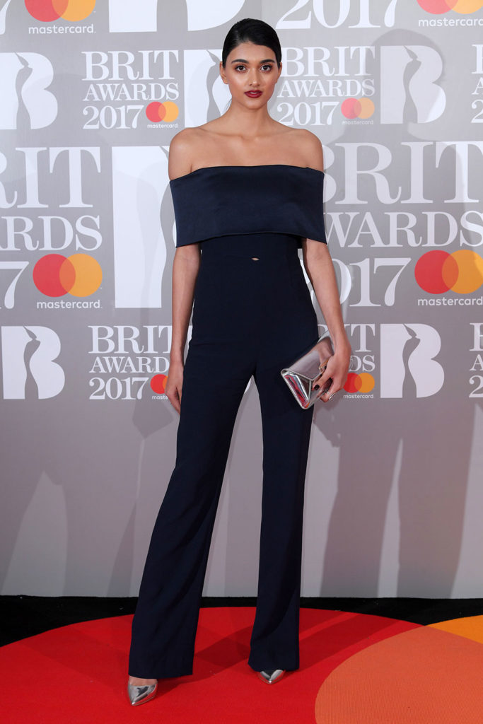 neelam gill red carpet outfit