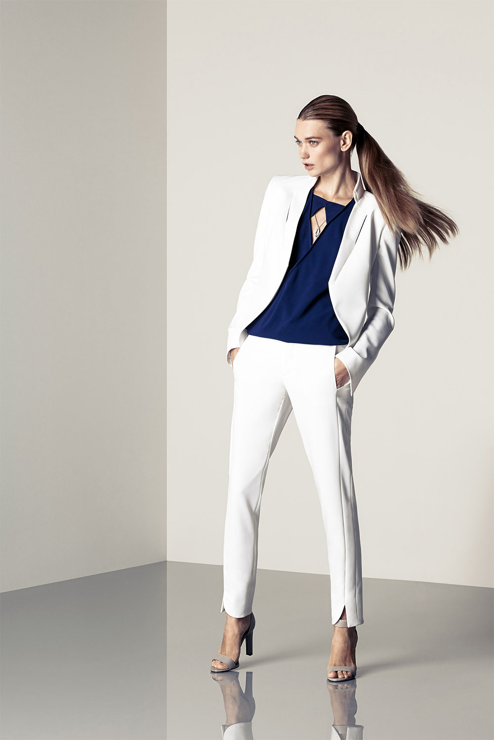 pant suit office outfit