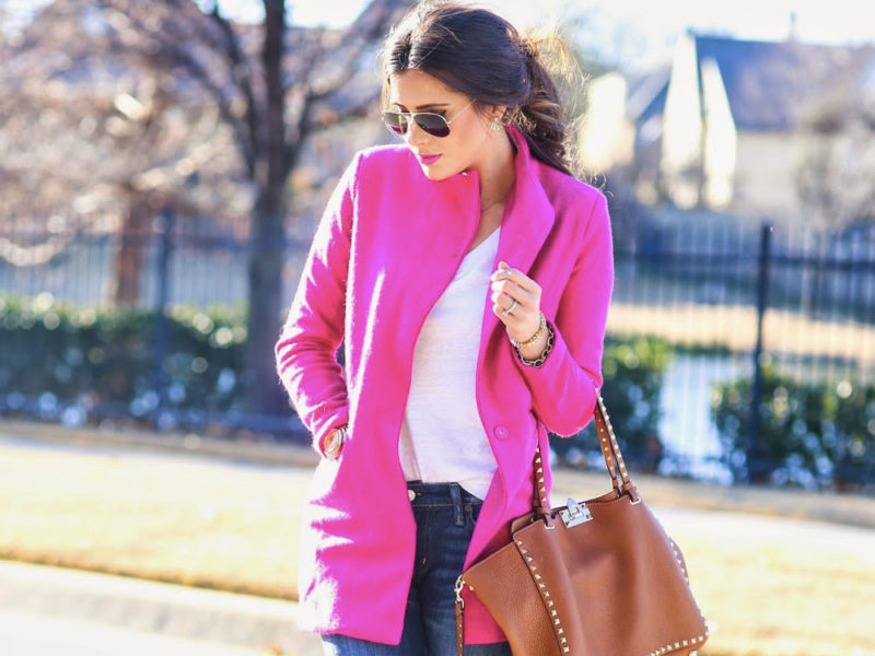 pink daily outfit ideas