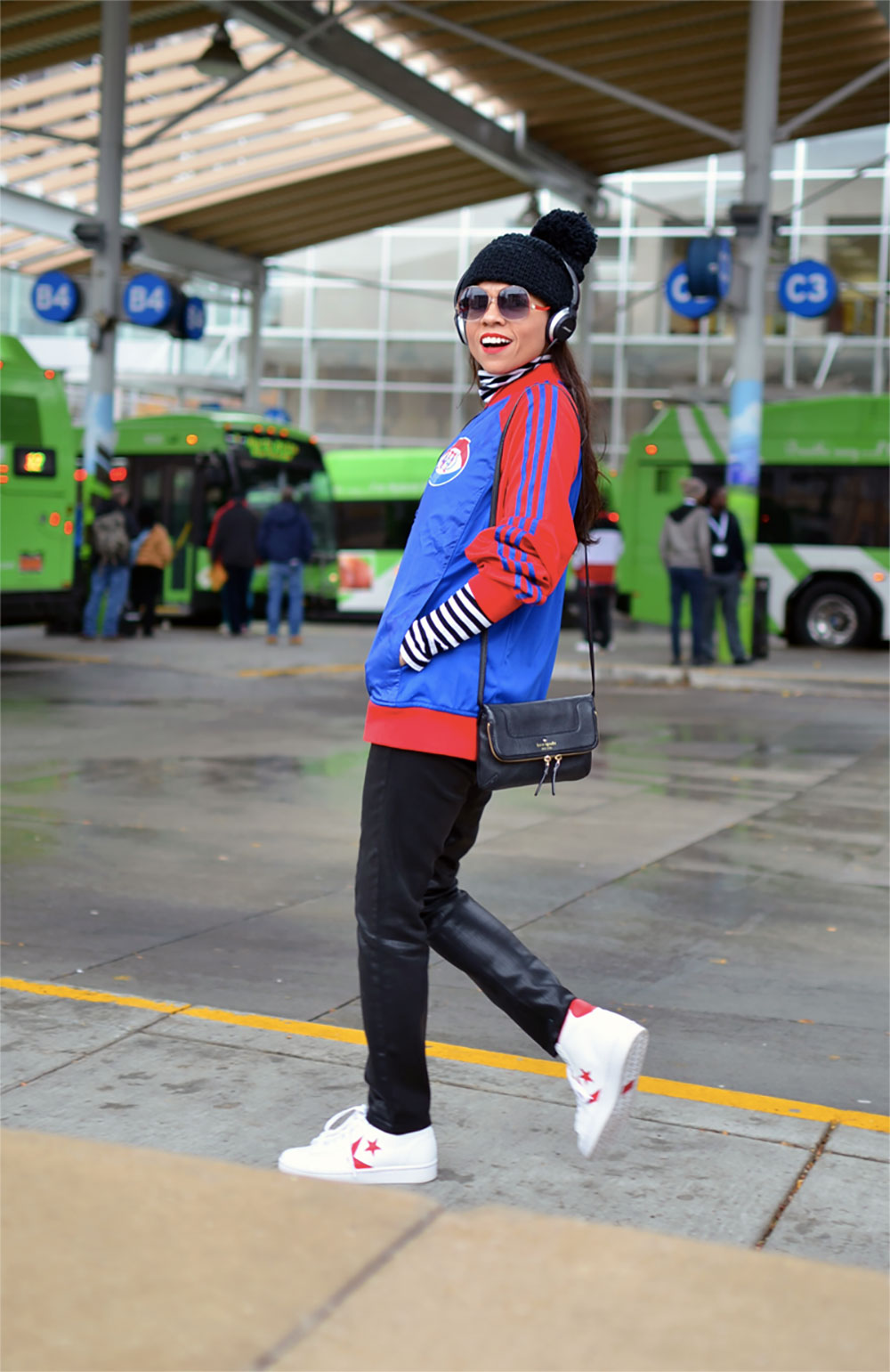 sneakers sport jacket outfit