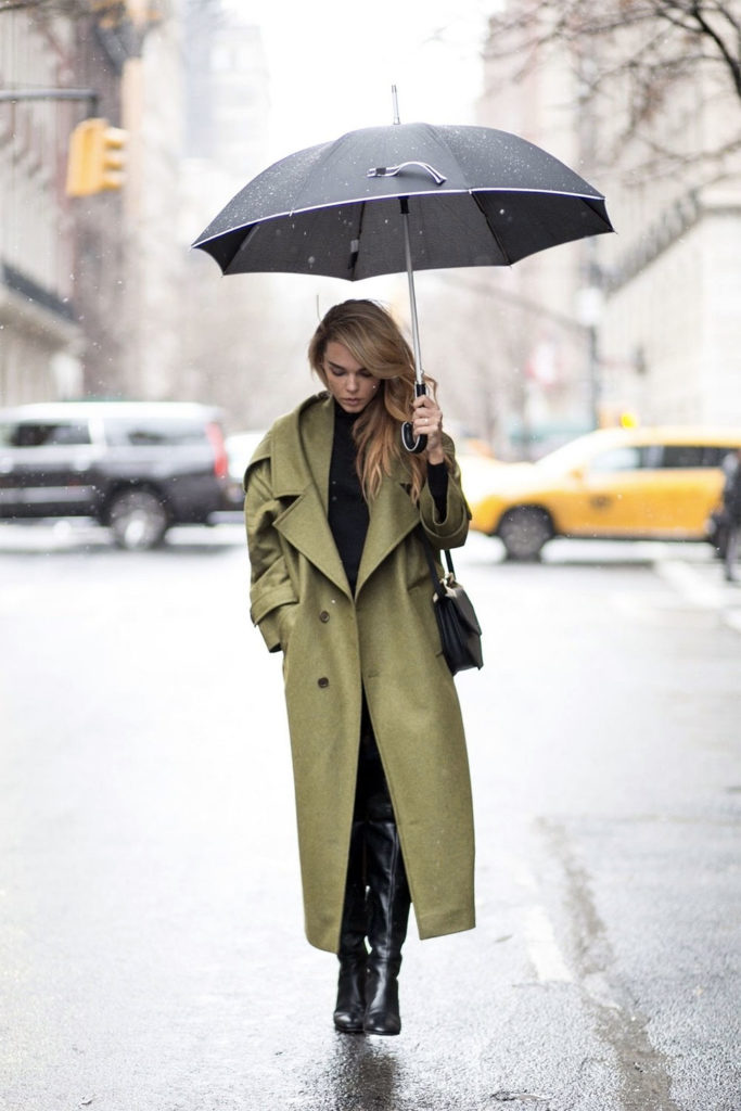 trench daily outfit