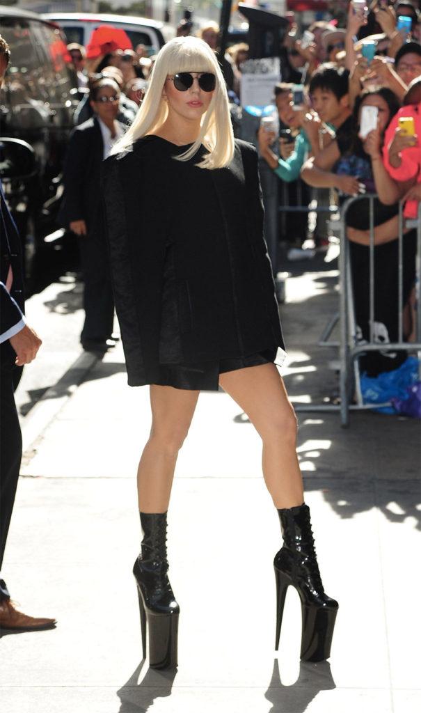 unusual high heels