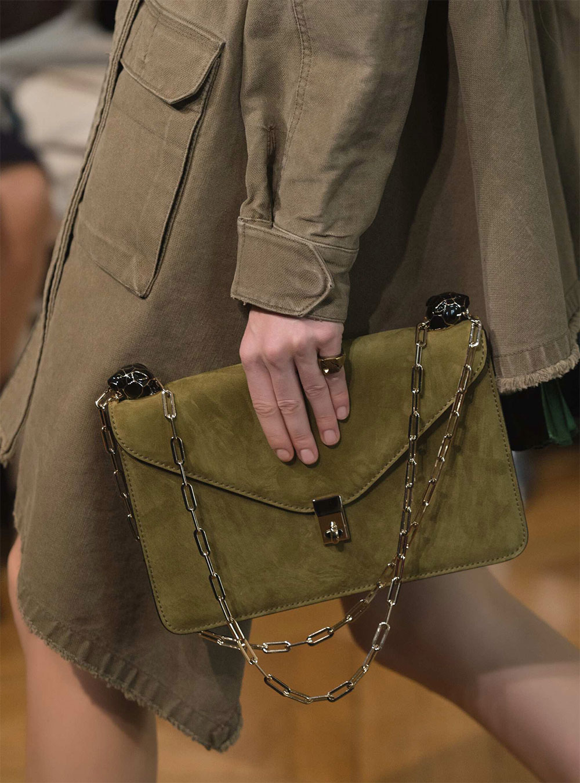 valentino green handbag