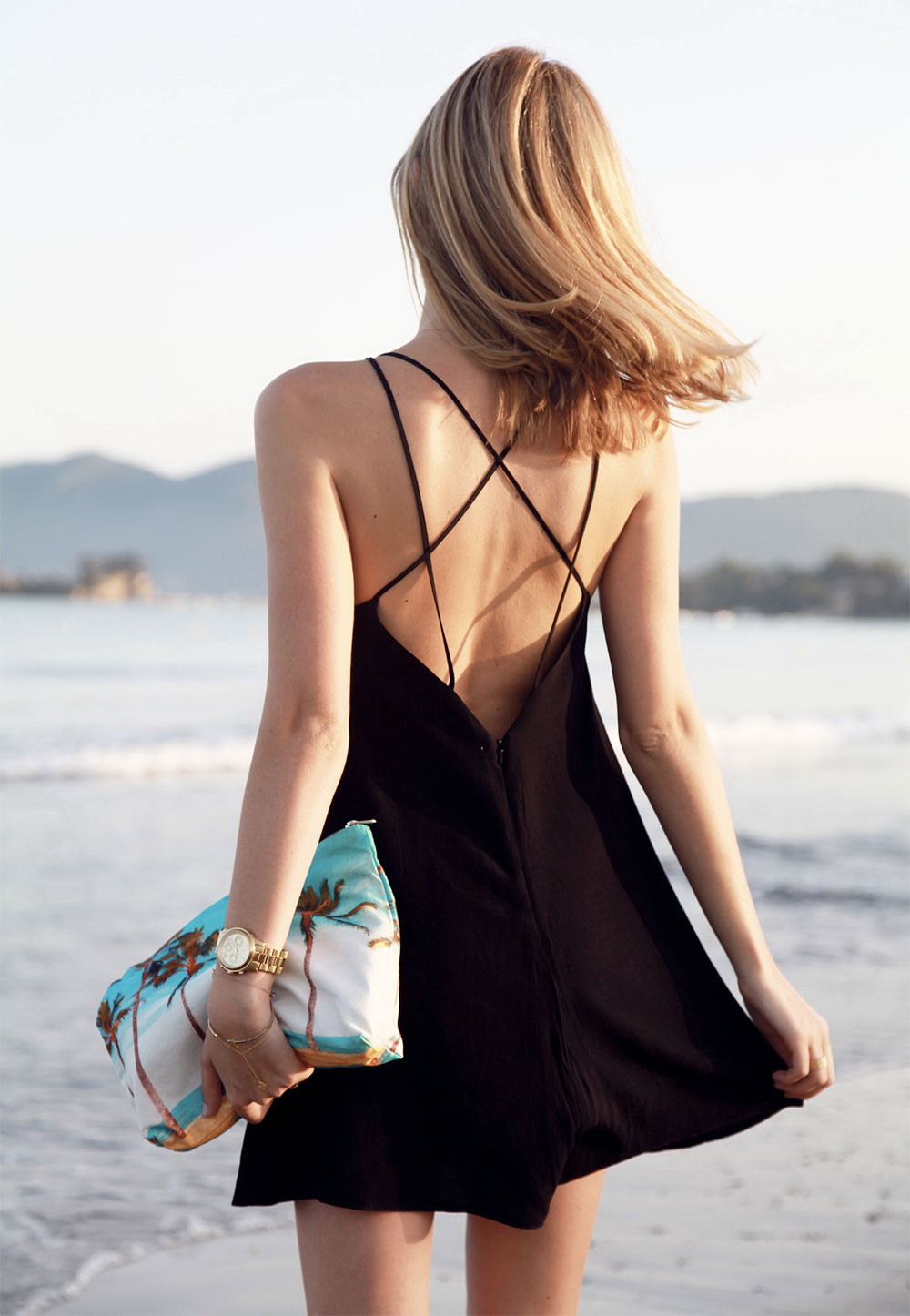 back revealing dress