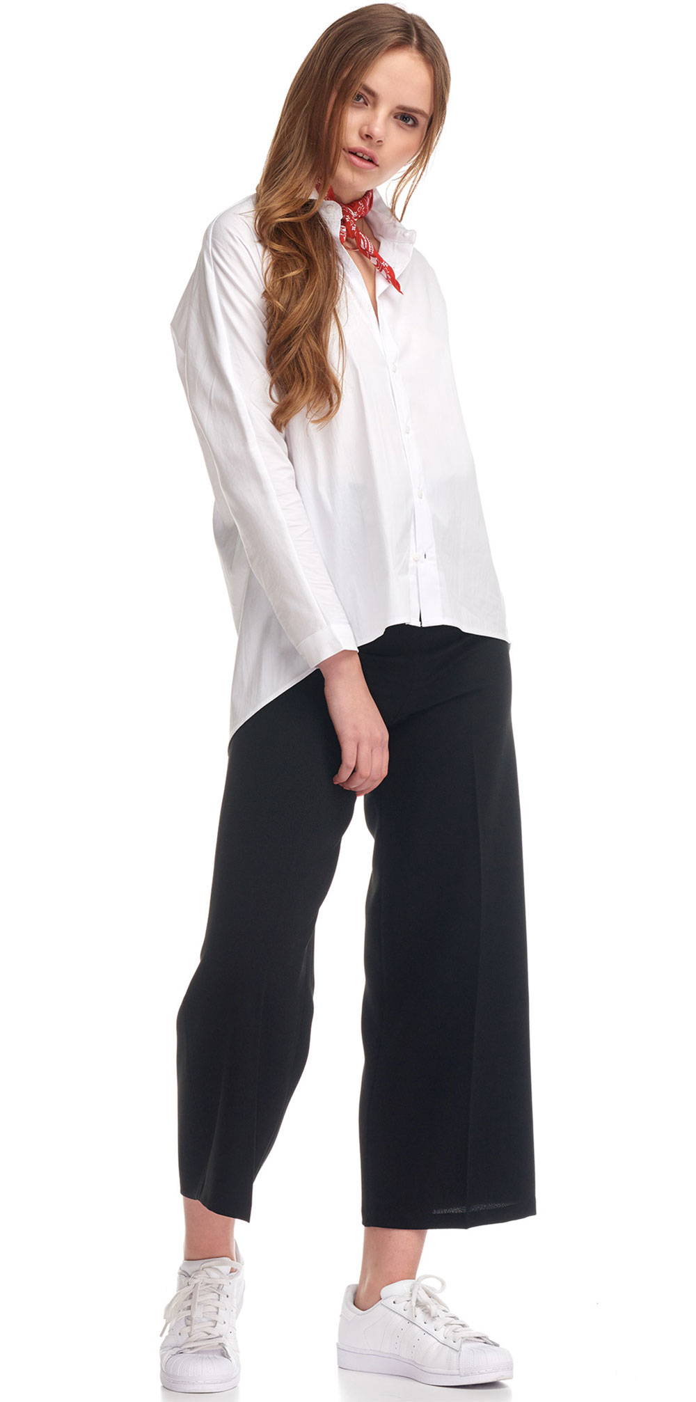 culotte jeans daily outfit