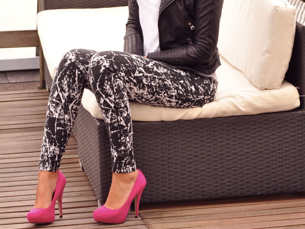 high heels daily outfit ideas