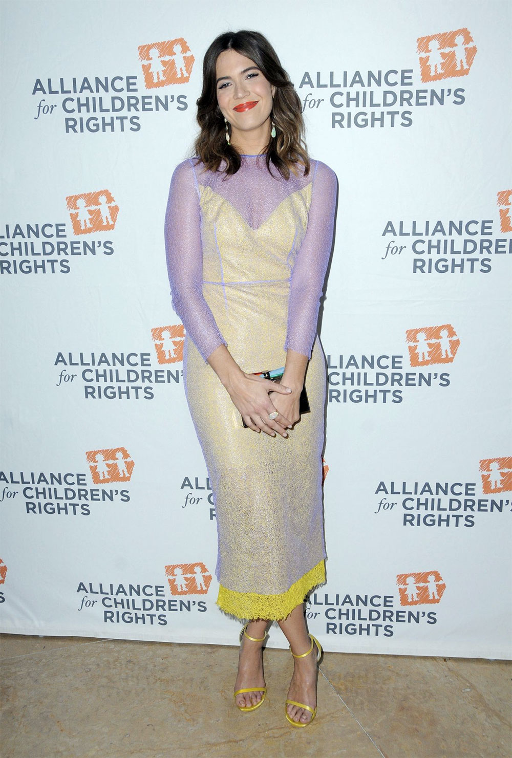mandy moore awards outfit