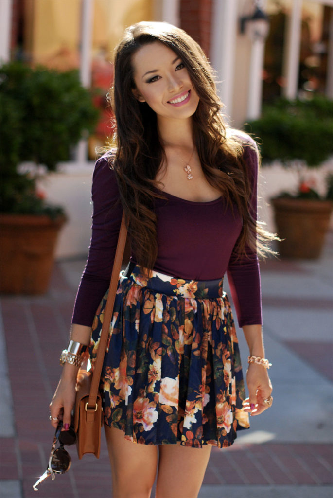 miniskirt flowers