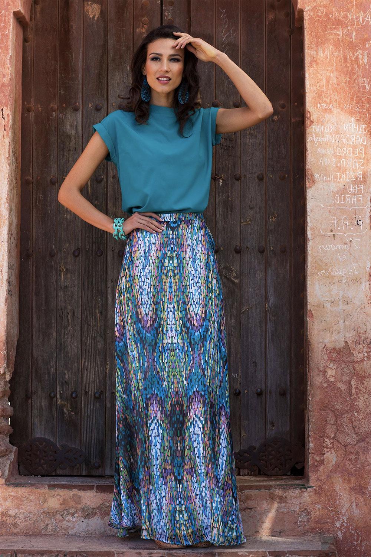 shabby skirt daily outfit idea