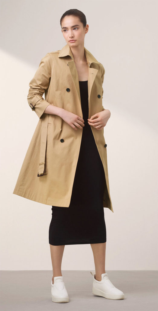trench coat daily outfit
