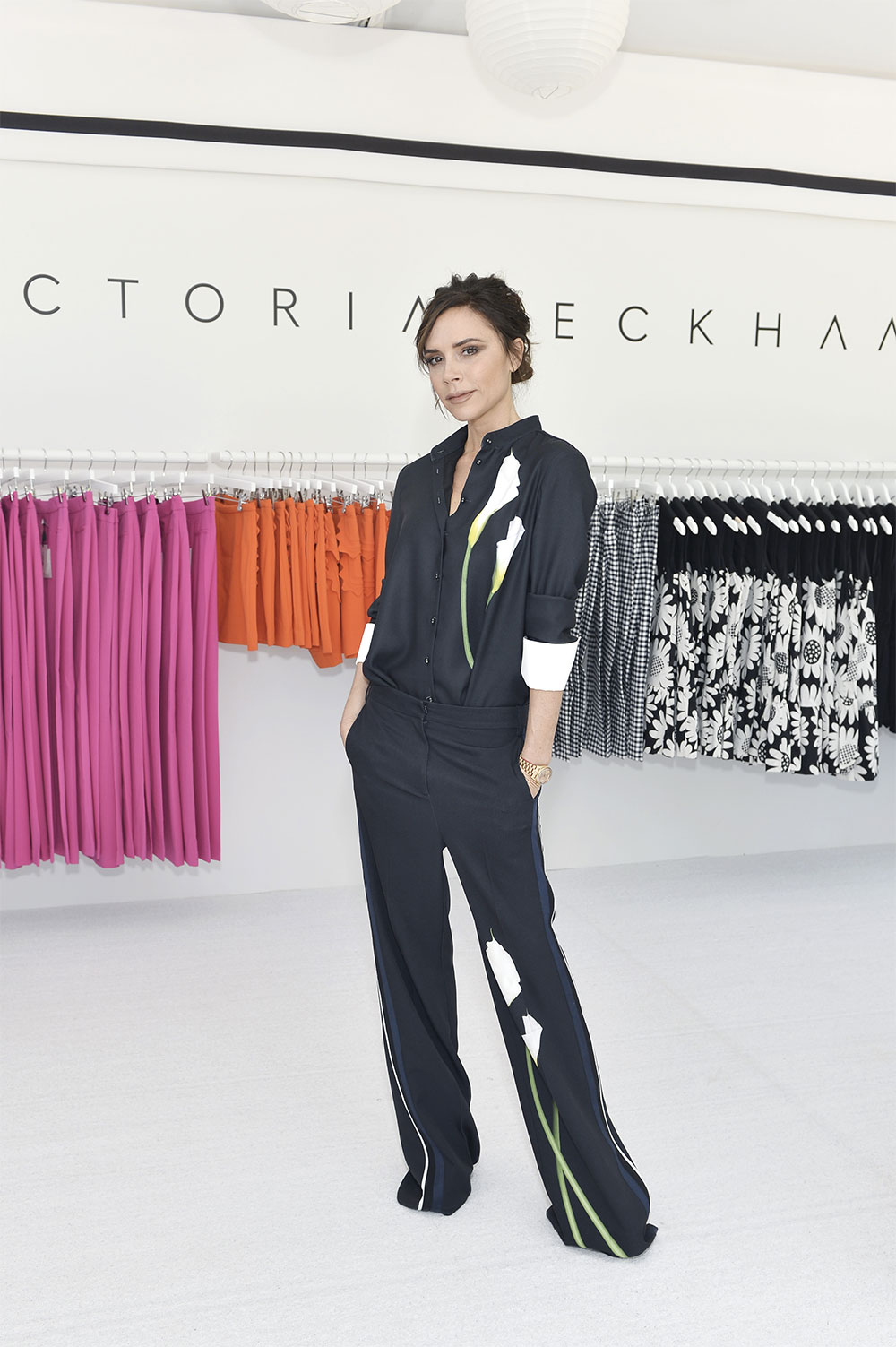 victoria beckham fashion event outfit