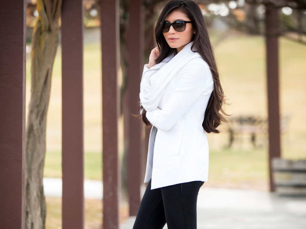 black and white daily outfit ideas
