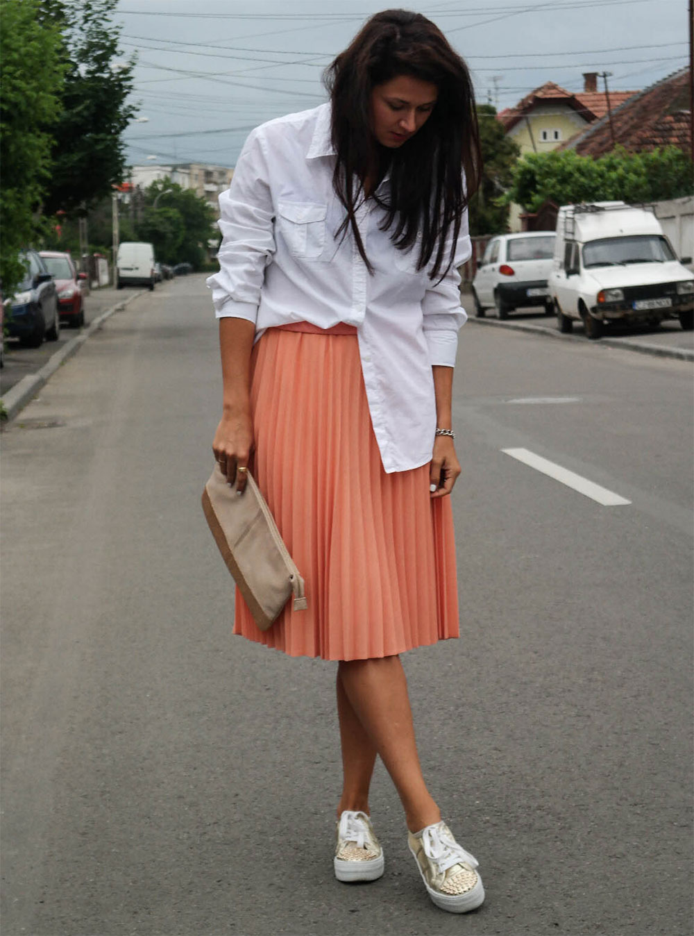 best midi skirt trends outfitmag