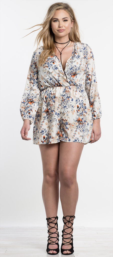 mini floral dress