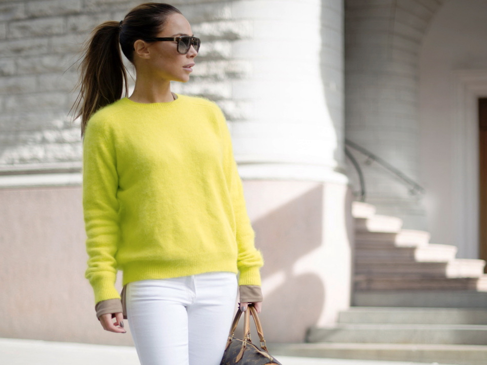 white trousers outfit ideas