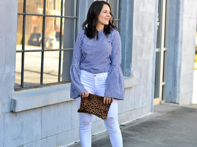 gingham daily outfit ideas