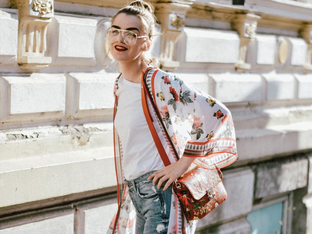 kimono dress outfit