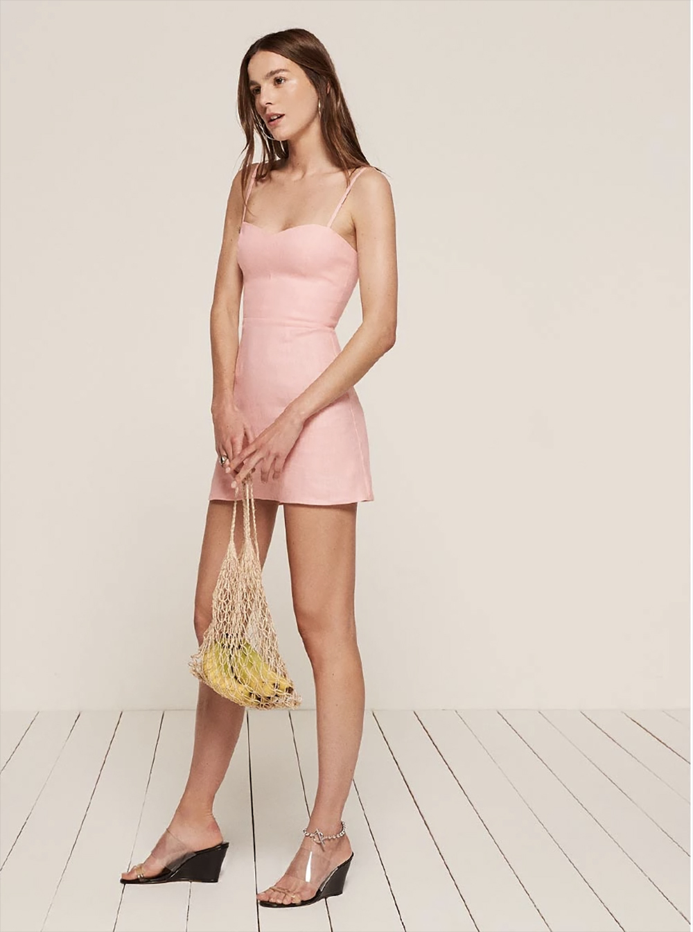 pink audrey dress