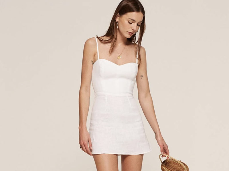 how to wear white audrey dress