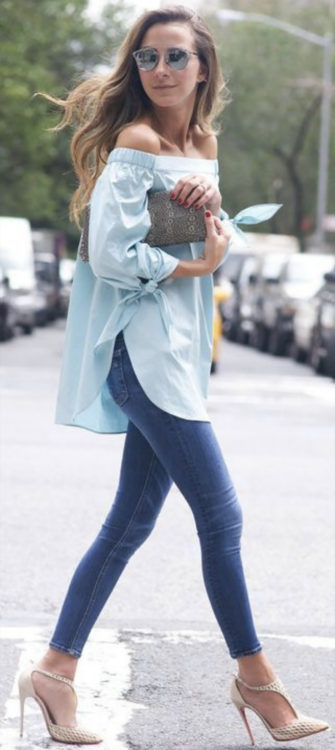 classic jeans outfit