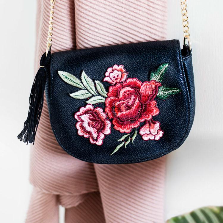 embroidery mini bags