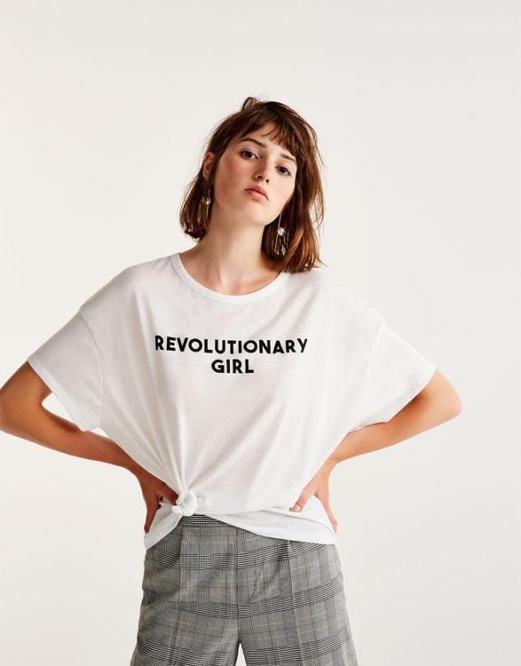 slogan tee