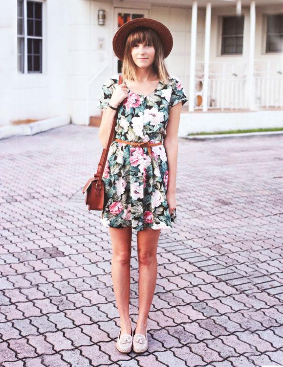 straw hat dresses