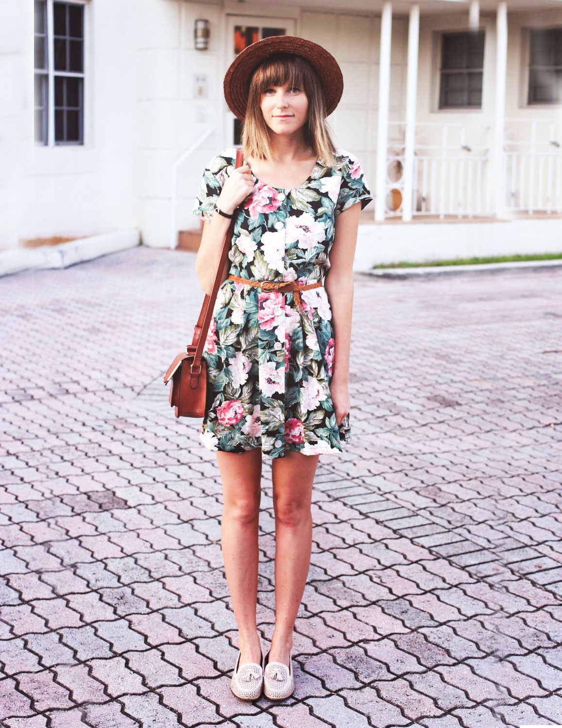 straw hat dresses