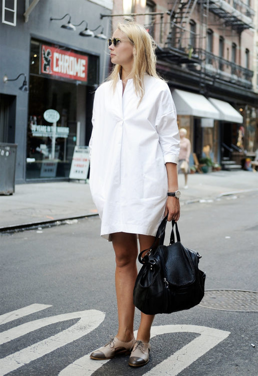 white dress formal outfit