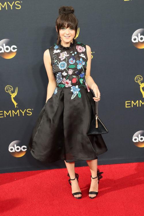 Maisie Williams Floral Dress