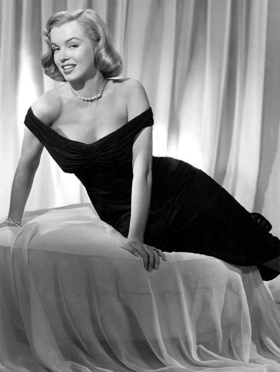 Marilyn Monroe in 1950s