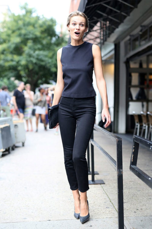 black office outfit ideas