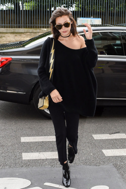 Oversized Sweater by Bella Hadid