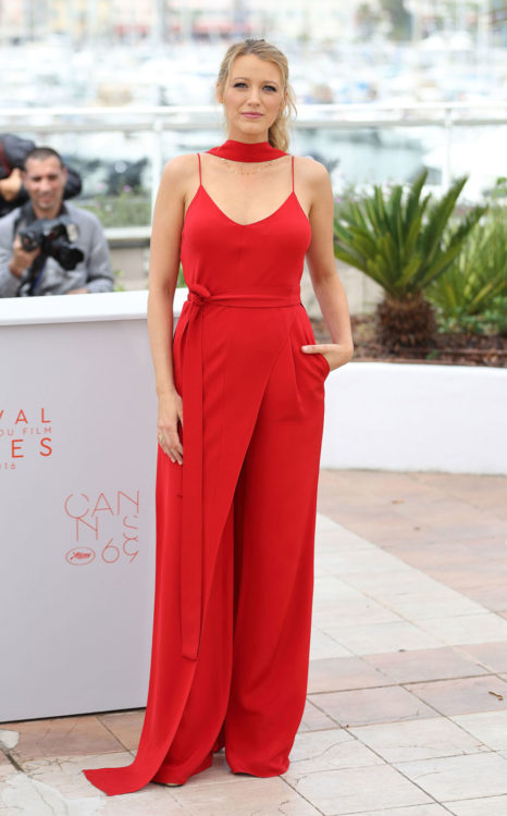 Red Jumpsuit Ideas by Blake Lively