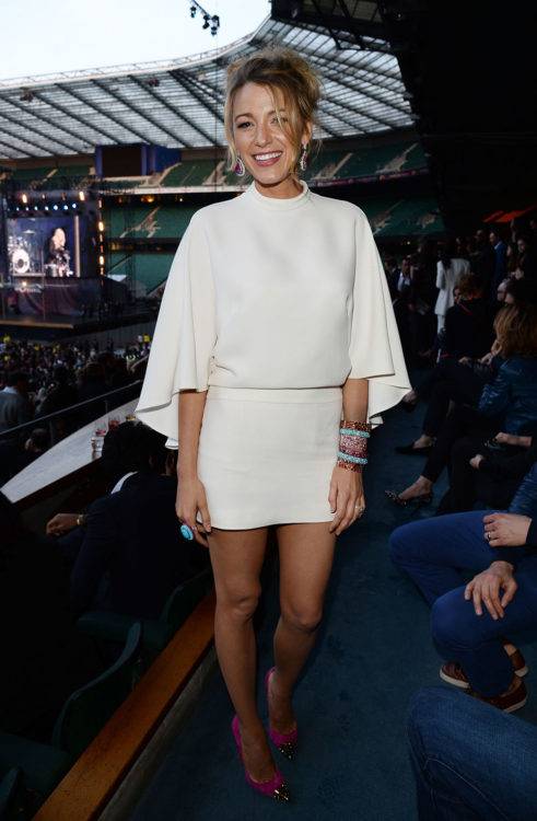 Monochrome Outfit by Blake Lively
