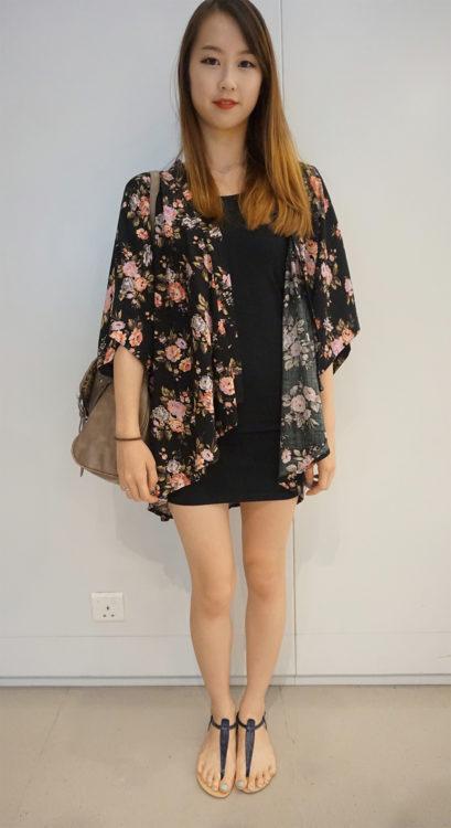 little black dress outfit